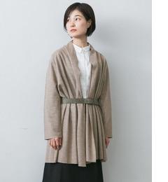 【アーバンリサーチ/URBAN RESEARCH】 かぐれ ウールの羽織りコート [送料無料]