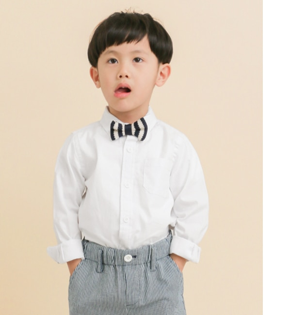 DOORS FORK&SPOON OX Basic SHIRTS(KIDS)【アーバンリサーチ/URBAN RESEARCH キッズ その他(トップス) WHITE ルミネ LUMINE】