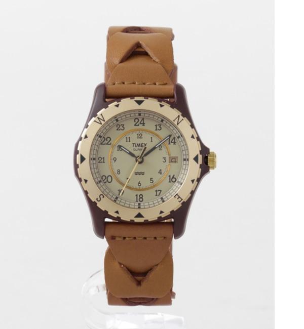 Sonny Label TIMEX Safari【アーバンリサーチ/URBAN RESEARCH メンズ 腕時計 キャメル ルミネ LUMINE】