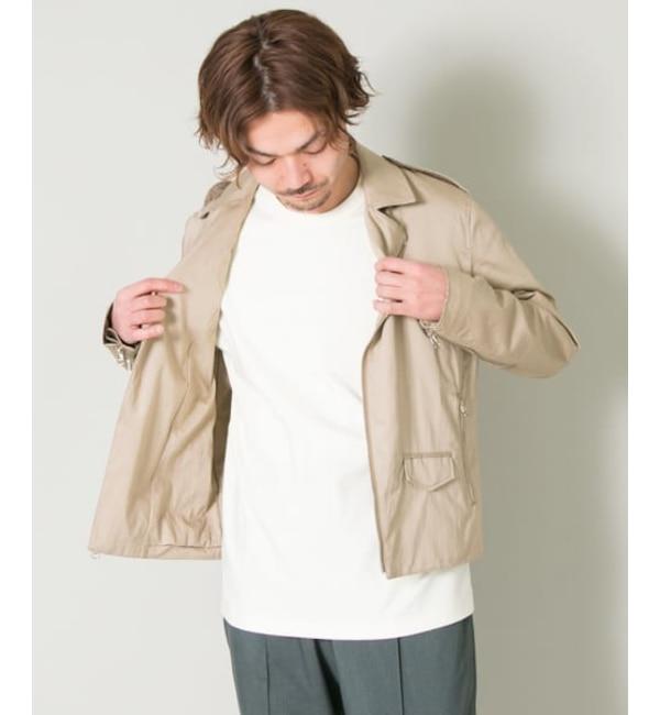 人気メンズファッション 【アーバンリサーチ/URBAN RESEARCH】 UR COSEI 高密度コットンWライダース