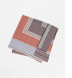 【アーバンリサーチ/URBANRESEARCH】RODESKO幾何学柄スカーフ[3000円(税込)以上で送料無料]