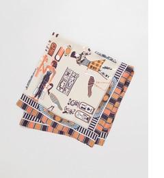 【アーバンリサーチ/URBANRESEARCH】RODESKOエジプトパターンスカーフ1[送料無料]