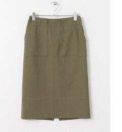 【アーバンリサーチ/URBANRESEARCH】ROSSOバックスリットポケットタイトスカート[送料無料]