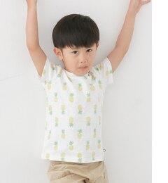 【アーバンリサーチ/URBAN RESEARCH】 DOORS パイナップルTシャツ(KIDS) [3000円(税込)以上で送料無料]