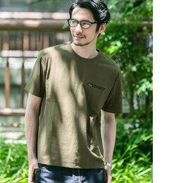 【アーバンリサーチ/URBAN RESEARCH】 Sonny Label クールドライファスナーポケットTシャツ [送料無料]