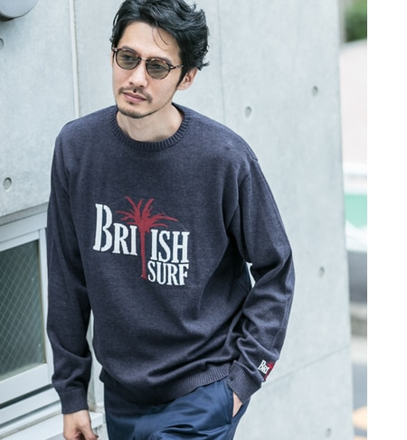 Sonny Label MAGIC NUMBER×Sonny Label GQ ロゴニットPULLOVER [送料無料]