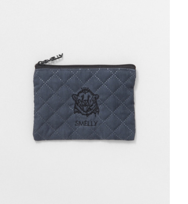 SMELLY MELLYポーチS【アーバンリサーチ/URBAN RESEARCH レディス ポーチ QUILT NVY ルミネ LUMINE】