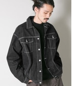 UR ローレン・サイ×URBAN RESEARCH iD 「the C」BIG DENIM JACKET