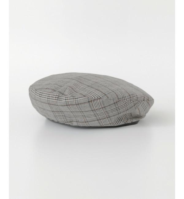 【アーバンリサーチ/URBAN RESEARCH】 UR チェックベレー帽's image