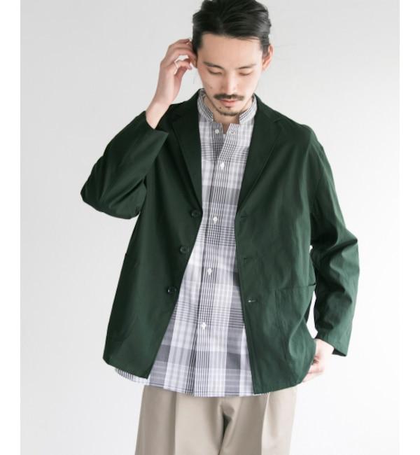 【アーバンリサーチ/URBAN RESEARCH】 UR リヨセル/コットン シャツジャケット