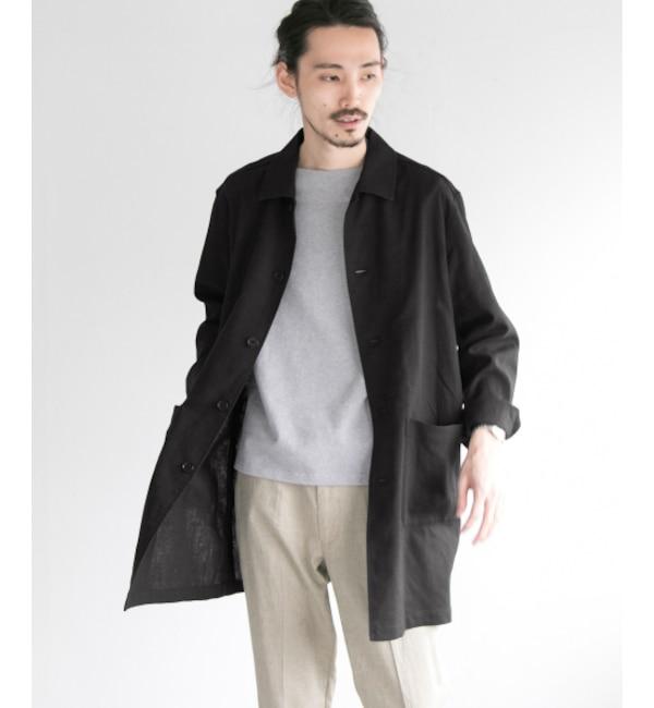 ファッションメンズなら|【アーバンリサーチ/URBAN RESEARCH】 UR 高機能リネンステンカラーコート