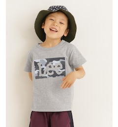 DOORS LEE KIDS Lee BOXロゴ迷彩Tシャツ(KIDS)