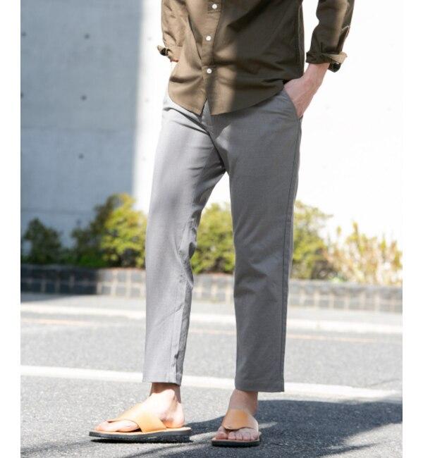 モテ系ファッションメンズ|【アーバンリサーチ/URBAN RESEARCH】 Sonny Label DOROSYテーパードストレッチパンツ