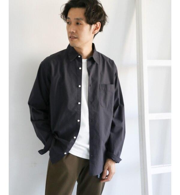 【アーバンリサーチ/URBAN RESEARCH】 DOORS ハイカウントチェックロングスリーブシャツ
