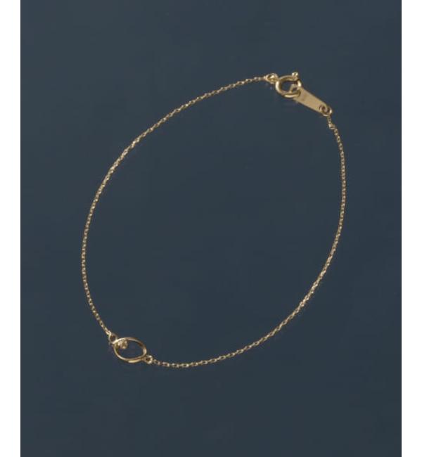 【アーバンリサーチ/URBAN RESEARCH】 ROSSO Favorible diamond drop bracelet
