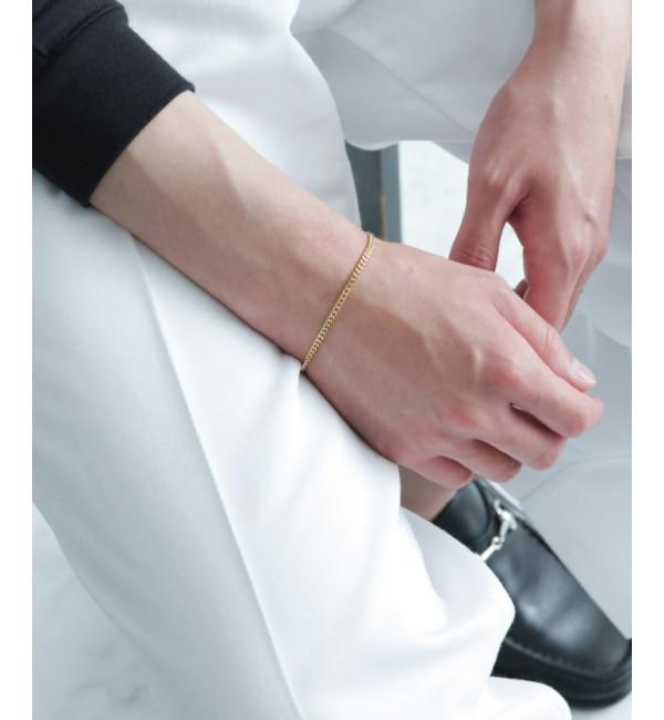 ファッションメンズのイチオシ|【アーバンリサーチ/URBAN RESEARCH】 ROSSO TOM WOOD CURB BRACELET M GOLD