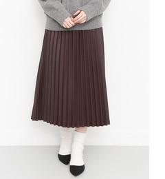 【ケービーエフ/KBF】 KBF フェイクレザースカート [送料無料]