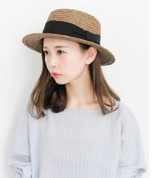 【ケービーエフ/KBF】KBFラフィアカンカン帽[送料無料]