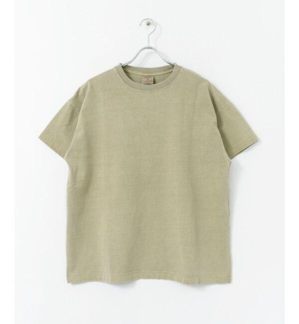 【センスオブプレイス バイ アーバンリサーチ/SENSE OF PLACE by URBAN RESEARCH】 SENSE OF PLACE (別注)Good wear ピグメントTシャツ