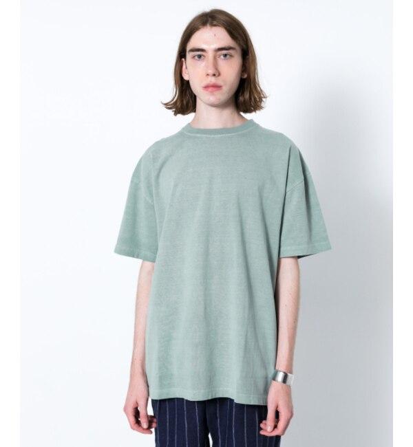 【センスオブプレイス バイ アーバンリサーチ/SENSE OF PLACE by URBAN RESEARCH】 SENSE OF PLACE (別注)Good wear ピグメントルーズTシャツ