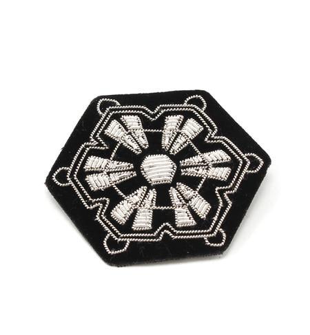 【エリオポール/heliopole】 MACON & LESQUOY 6角形雪結晶ブローチ [送料無料]