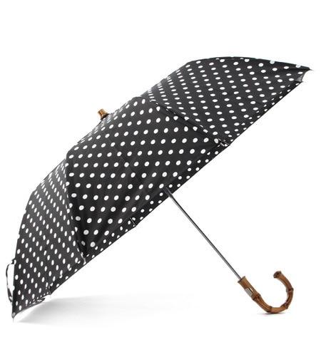 【エリオポール/heliopole】 Traditional Weatherwear ドット柄折りたたみ傘 [送料無料]