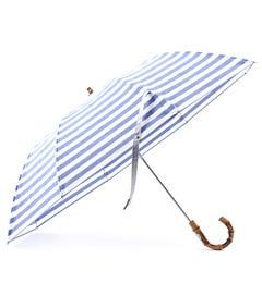 【エリオポール/heliopole】 Traditional Weatherwear ボーダー柄折りたたみ傘 [送料無料]