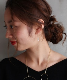 【エリオポール/HELIOPOLE】 Melissa McArthur Jewellery 3粒パールピアス [送料無料]