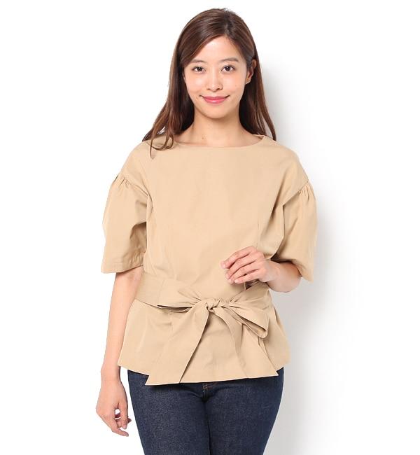 【エリオポール/HELIOPOLE】 JANE SMITH 【別注】2WAYリボンシャツ