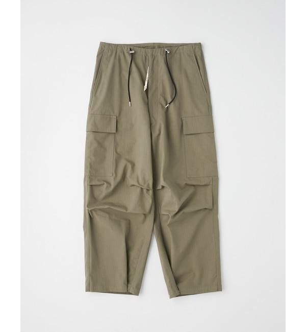 モテ系メンズファッション 【トラディショナル ウェザーウェア/Traditional Weatherwear】 DRAW STRING WORK PANTS