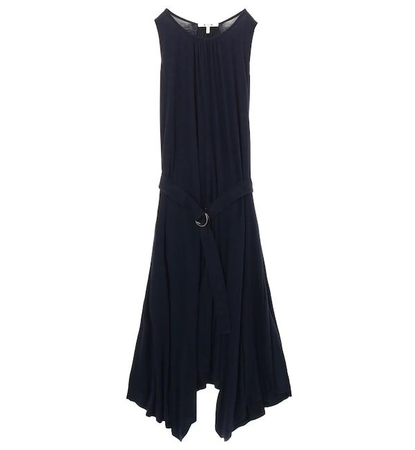 【スリードッツ/three dots】 リファインドジャージー ドレス