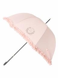【メゾンドフルール/Maison de FLEUR】 【美人百花4月号掲載】ヒートカットフリル長傘 [送料無料]