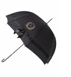 【メゾンドフルール/Maison de FLEUR】 【美人百花4月号掲載】サテンビッグリボン長傘 [送料無料]