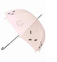 【メゾンドフルール/Maison de FLEUR】 【美人百花4月号掲載】ランダムリボン長傘 [送料無料]