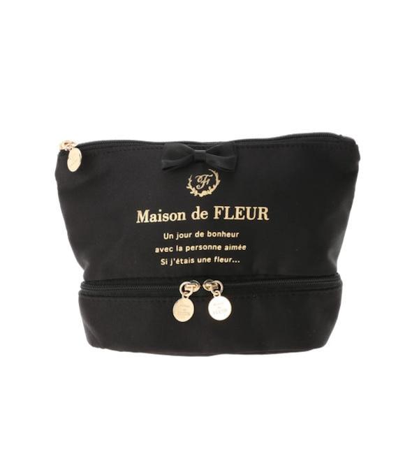 【メゾンドフルール/Maison de FLEUR】 2層ポーチ
