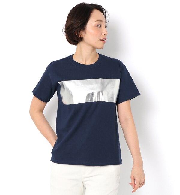 【アルアバイル/allureville】 FOILBORDER Tシャツ