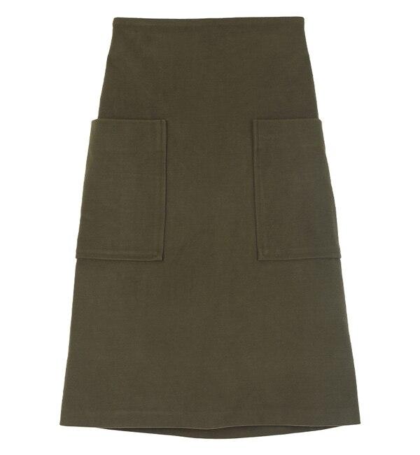 【ティティベイト/titivate】 ビッグポケットAラインスカート