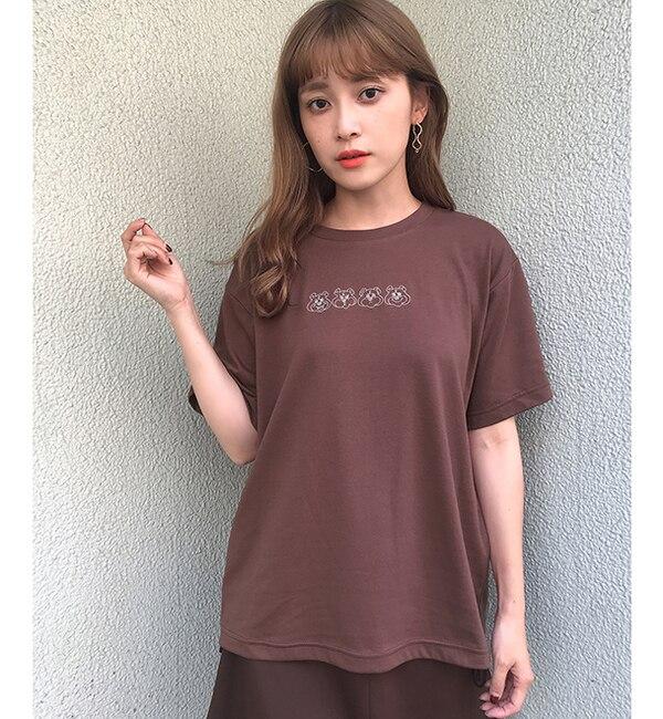 【ワンアフターアナザー ナイスクラップ/one after another NICE CLAUP】 アソートロゴTシャツ