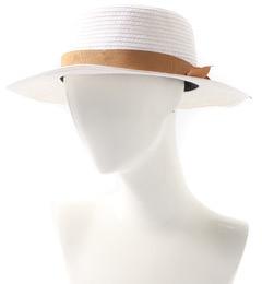 【テチチ/Techichi】ペーパーカンカン帽[3000円(税込)以上で送料無料]