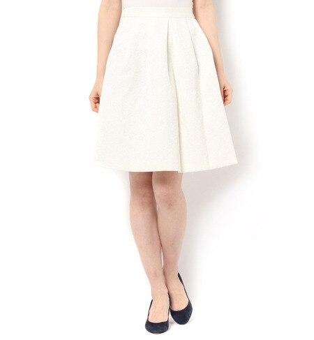 【テチチ/Te chichi】 花柄ジャガードスカート [3000円(税込)以上で送料無料]