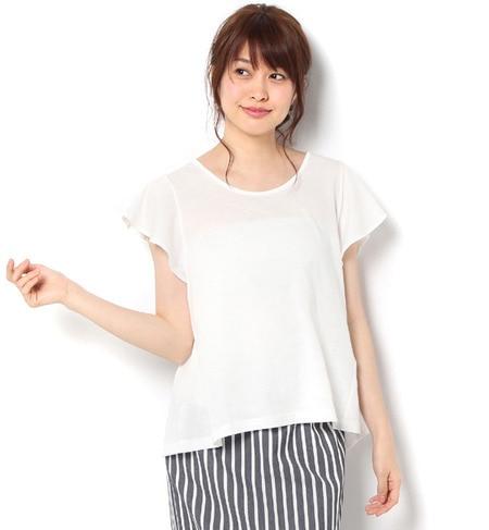 【テチチ/Te chichi】 袖フリルT [3000円(税込)以上で送料無料]