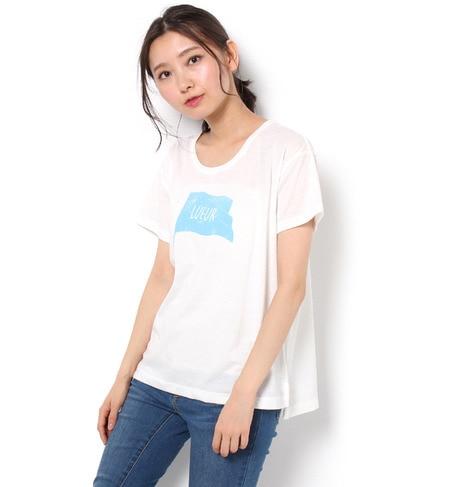 【テチチ/Te chichi】 カスレフラッグTシャツ [3000円(税込)以上で送料無料]