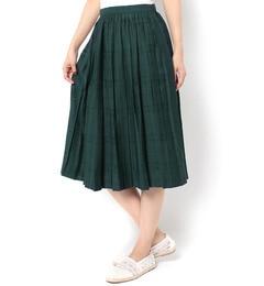 【テチチ/Te chichi】 シャドウチェックプリーツスカート [3000円(税込)以上で送料無料]