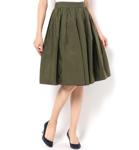 【テチチ/Te chichi】 タフタギャザースカート [送料無料]