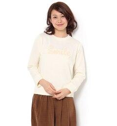 【テチチ/Te chichi】 裏起毛smileミッキープリント裏毛プルオーバー [3000円(税込)以上で送料無料]