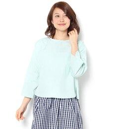 【テチチ/Techichi】バックリボンボートネックシャツ[送料無料]