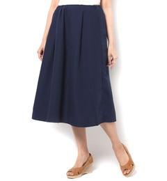 【テチチ/Te chichi】 ミモレギャザースカート [送料無料]