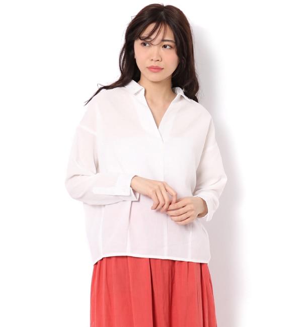【テチチ/Te chichi】 イージーリネンスキッパーシャツ