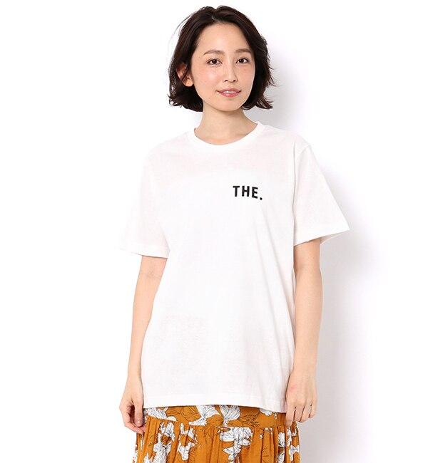 【テチチ/Te chichi】 COLLEGE TEE 【THE】