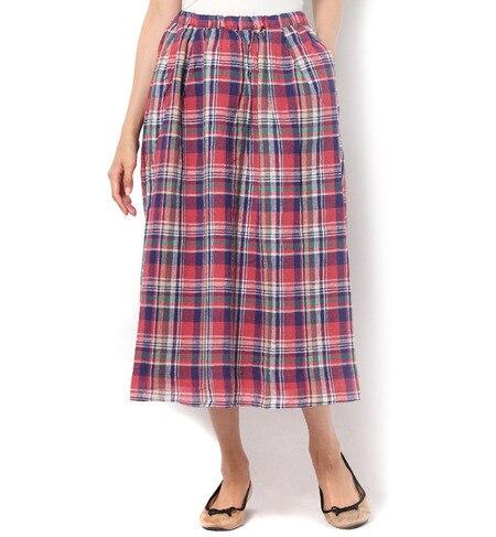 【サマンサモスモス/Samansa Mos2】 チェック柄スカート [3000円(税込)以上で送料無料]
